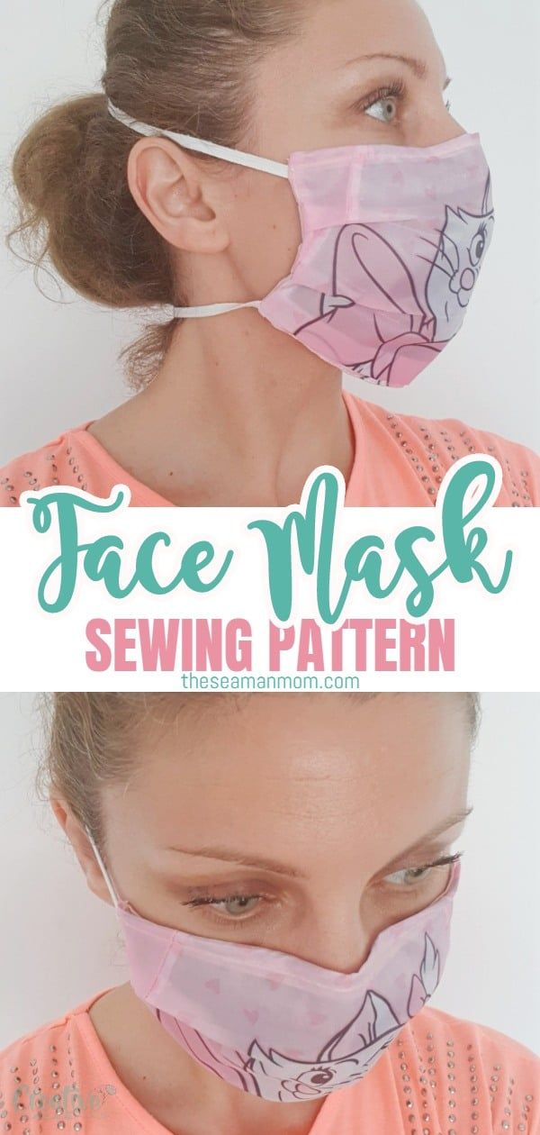 Photo of Face Mask Pattern Quick Sew Project | Easy Peasy Creative Ideas