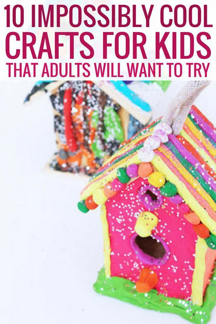 10 Impossibly Cool Crafts For Kids That Adults Will Want To Try is part of Cool Kids Crafts DIY Projects - Truth be told! There are just some activities that you never get old for  Sometimes, as a grownup, you would want to reconnect with your childhood, and what better way to achieve this than to engage in kids' crafting  This activity is filled with messy fun and it's also a great way to spark imagination and creativity  Here are some crafts that you can try at home  10 Impossibly Cool Crafts For Kids That Adults Will Want To Try