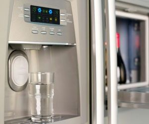 Refrigerator Water Dispenser Not Working Repair Com Pin Now There When You Need It Water Dispenser Clean Refrigerator Kitchen Germs