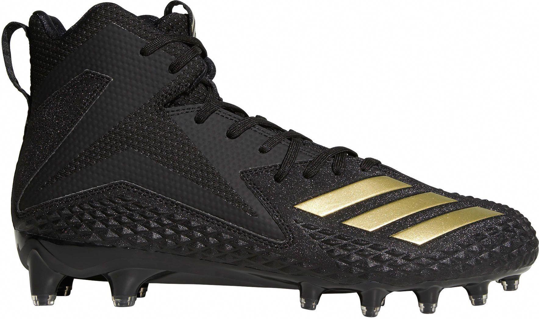 bcc4d7a506c03 adidas Men's Freak X Carbon Mid Football Cleats, Size: 16, Blue ...