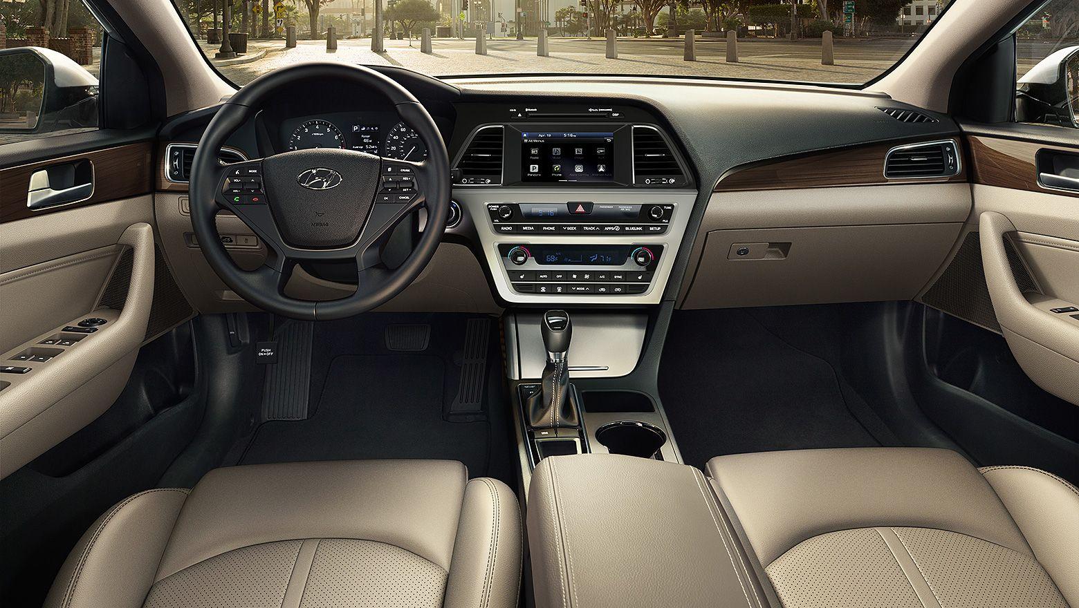 Build Your Own Hyundai Usa 2017 Sonata Limited Nouveau Blue Beige Interior