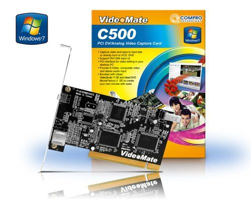 Compro C500 PCI DVI/Analoge Video Capture Card