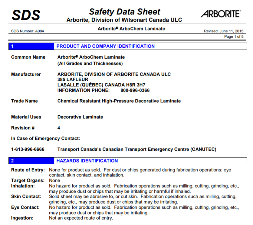 Chemical Safety Data Sheets ICSC MedicalThatsMyStapler