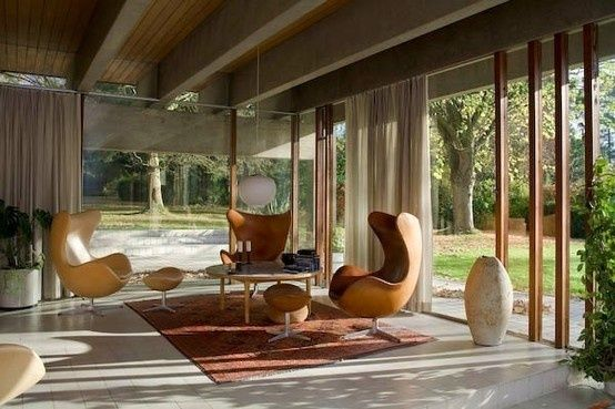 Theres something about these wonderful mid-century home interiors that gives off an air of confidence and sophistication... decor-i-love personal-development personal-development personal-development