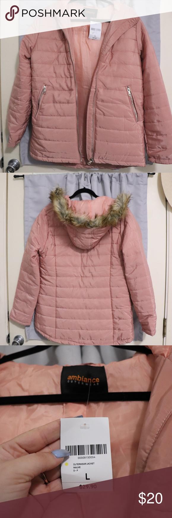 Faux Fur Trim Hooded Puffer Jacket New Puffer Jackets Jackets Fur Trim [ 1740 x 580 Pixel ]