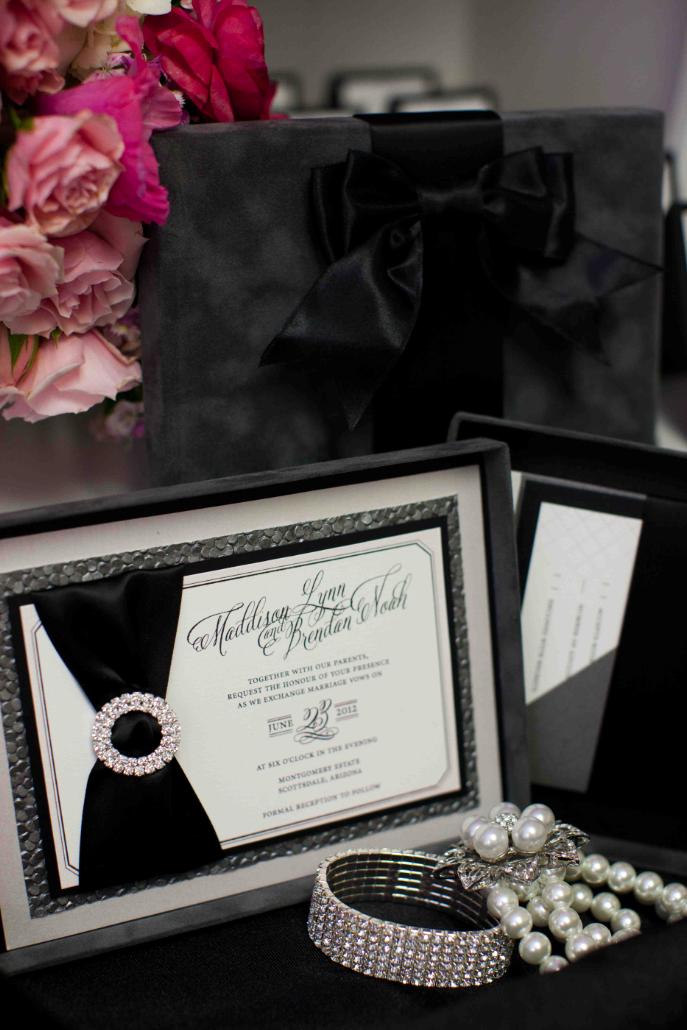 Coco Chanel Inspired Invitation