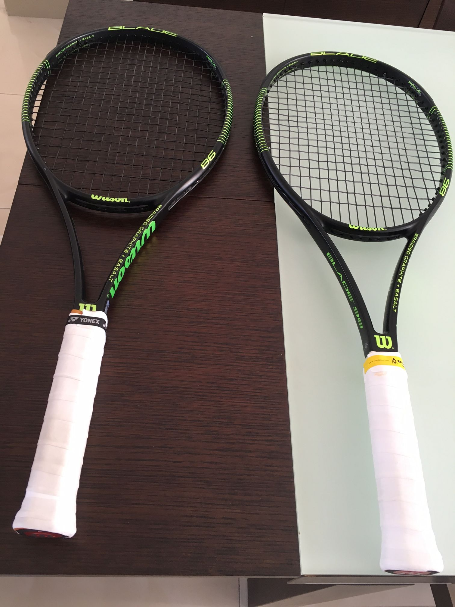 Wilson 2019 Clash Tour 100 Tennis Racquet Racket Black 100sq