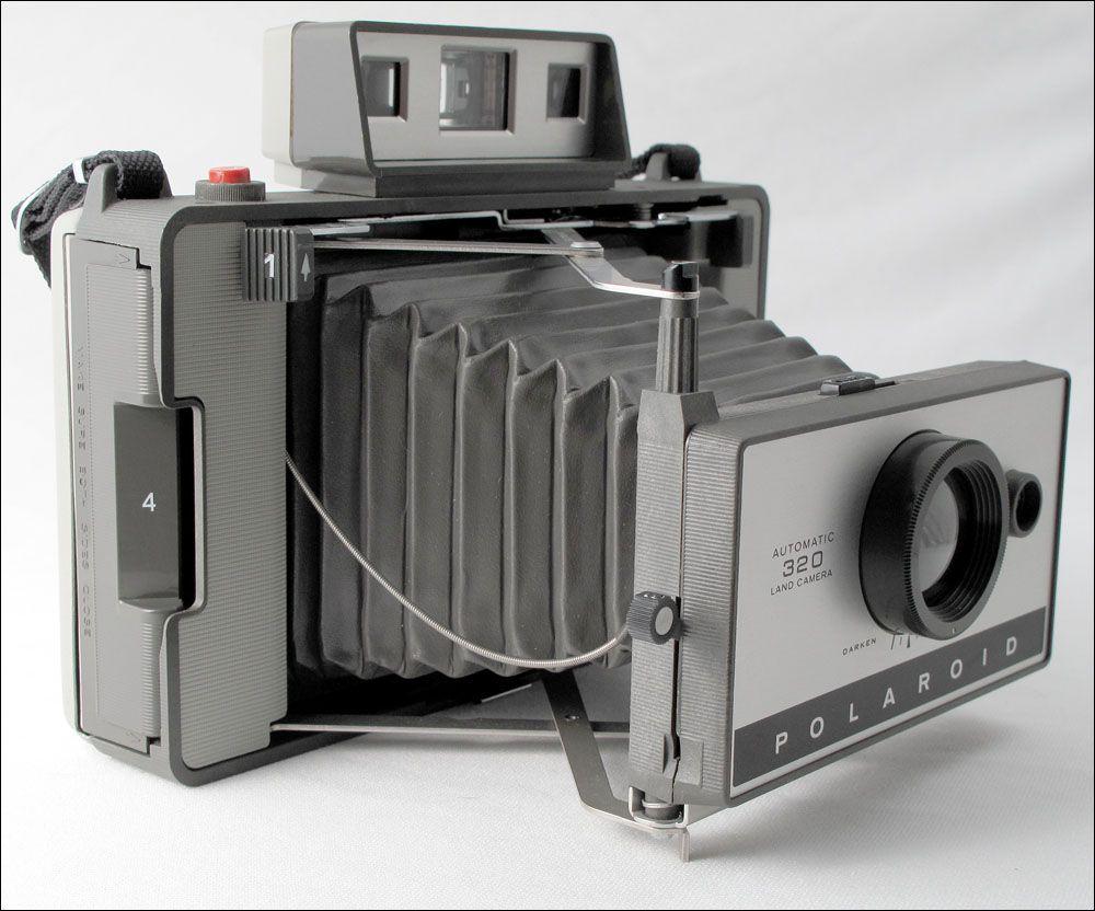 Polaroid 320 Camera Polaroid Old Cameras Vintage