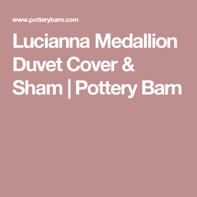 Lucianna Medallion Percale Duvet Cover Amp Shams Medallion