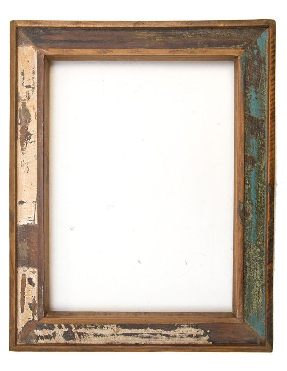 Reclaimed Wood Picture Frame 12\