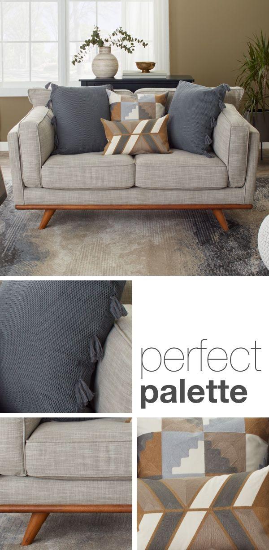 How To Arrange Sofa Pillows On Any Type Of Sofa