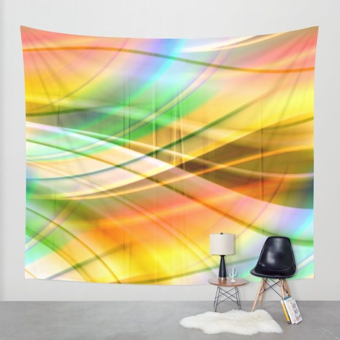 Buy pattern pastel yellow and green Wall Tapestry by Christine baessler. Worldwide shipping available at Society6.com. Just one of millions of high quality products available.