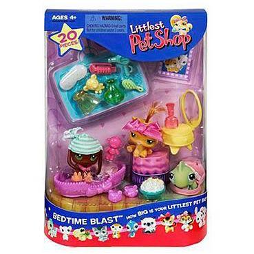 Lps 3 Pack Scenery Bedtime Blast Generation 1 Pets Lps Merch