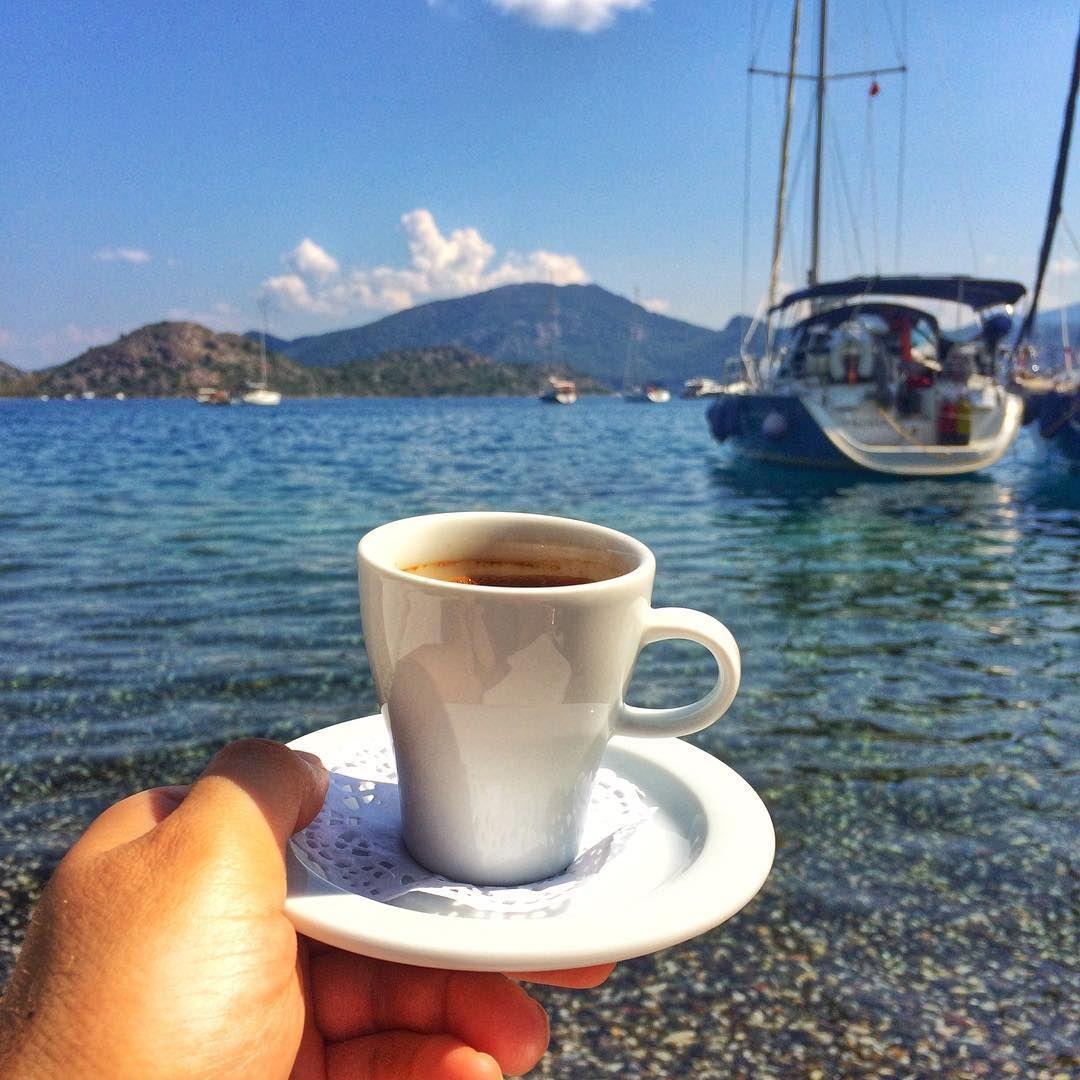 нежные красивые картинки утренний кофе у моря перезарядка