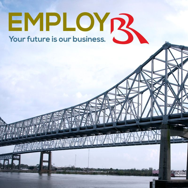 Your new job in Baton Rouge starts here. Whether you'd