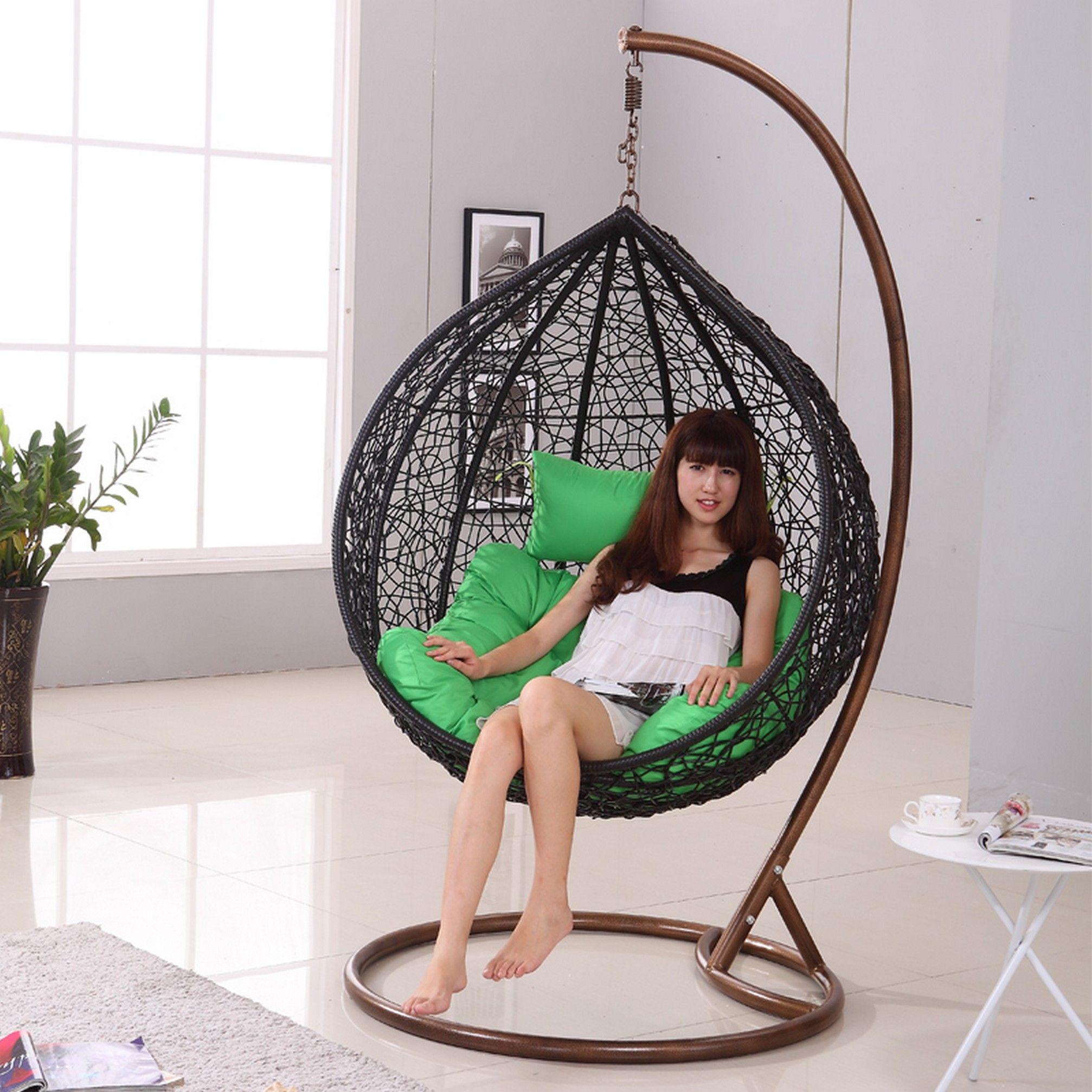 Attractive 20 Spherical Hanging Bed Ideas For Improving Wonderful Atmosphere In The  Bedroom