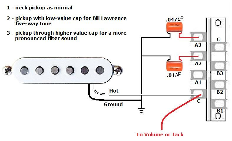 Capacitors As High Pass Filter Wiring With Images Guitar