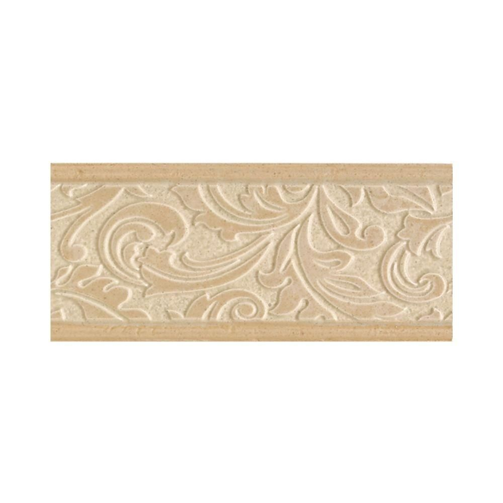 Tile Decorative Accents Daltile Brixton Sand 4 Inx 9 Inceramic Decorative Accent Wall