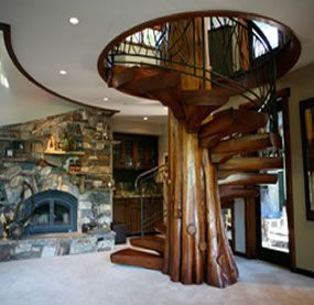 Best Logstairs Com Staircase Design Wood Staircase Spiral 400 x 300