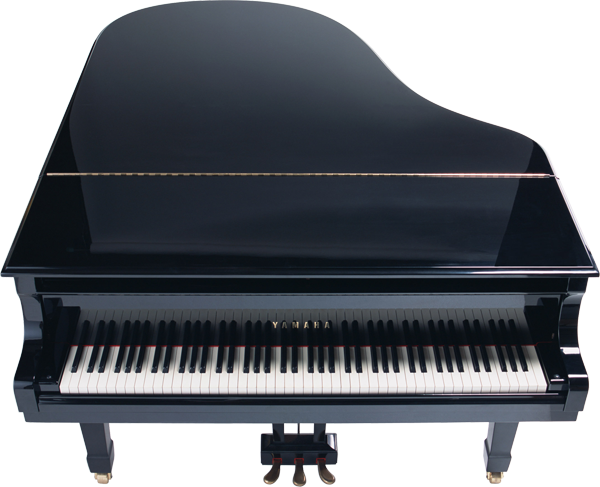 Big black grand piano transparent clipart clip art music for Big grand piano