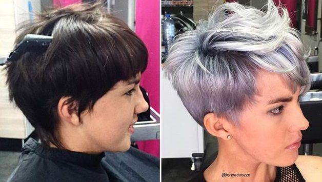 Het is alweer het jaar 2016 en dan is het weer tijd voor nieuwe, coole kleuren. Zilver is echt zo'n kleur die eind 2015 al erg hip was maar in 2016 is het helemaal een toppertje! Je kan zilver combineren met een andere kleur om jouw kapsel he...