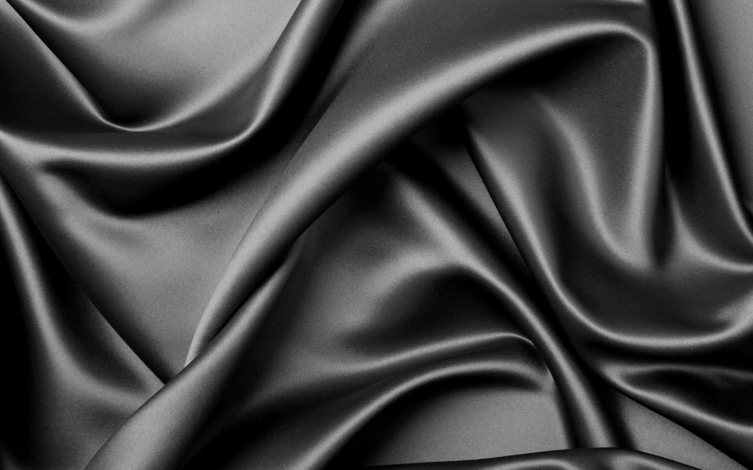 Black Textures Elegant Silk Theme Wallpaper Textured