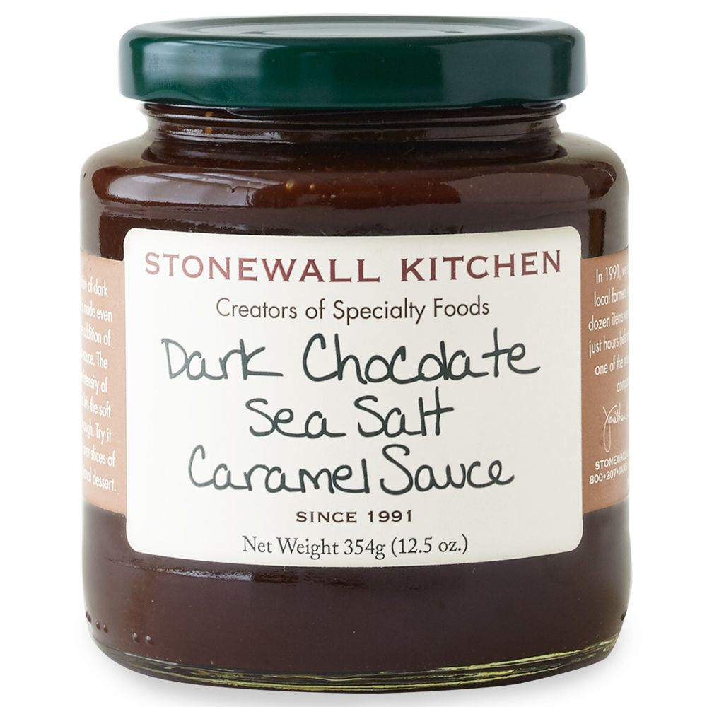 Dark Chocolate Sea Salt Caramel Sauce | Salsas, Caramelo y Chocolates