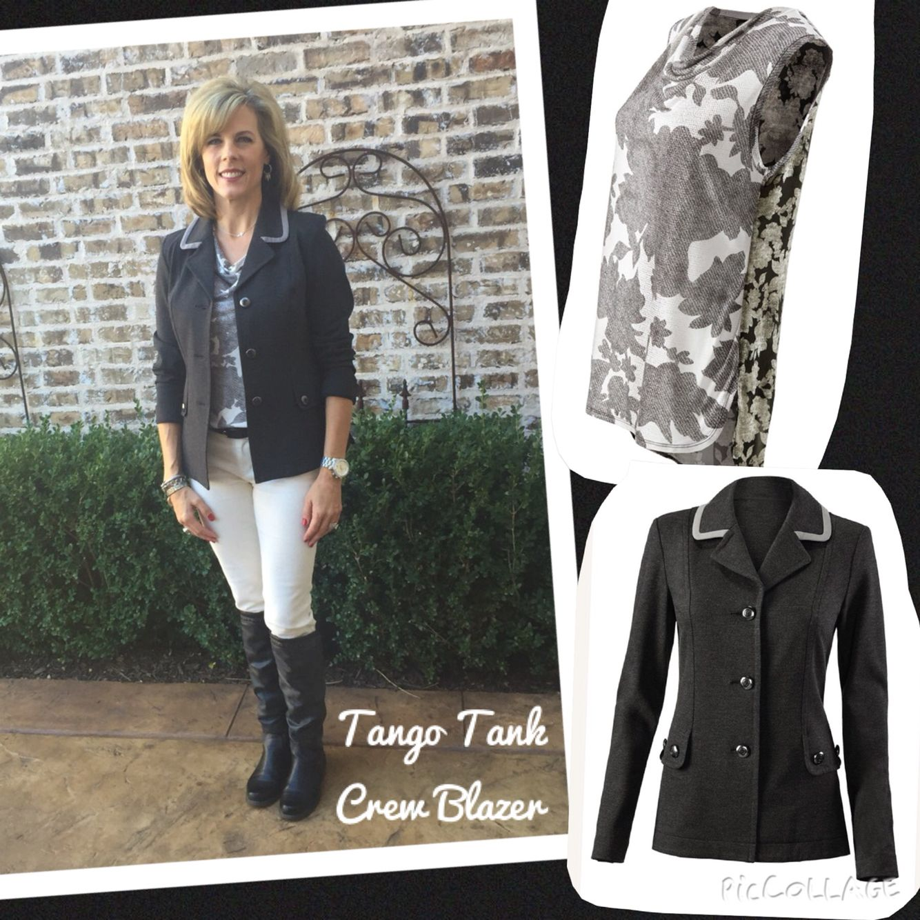Tango Tank and Crew Blazer. Cabi clothing. Love! | cabi Style and ...