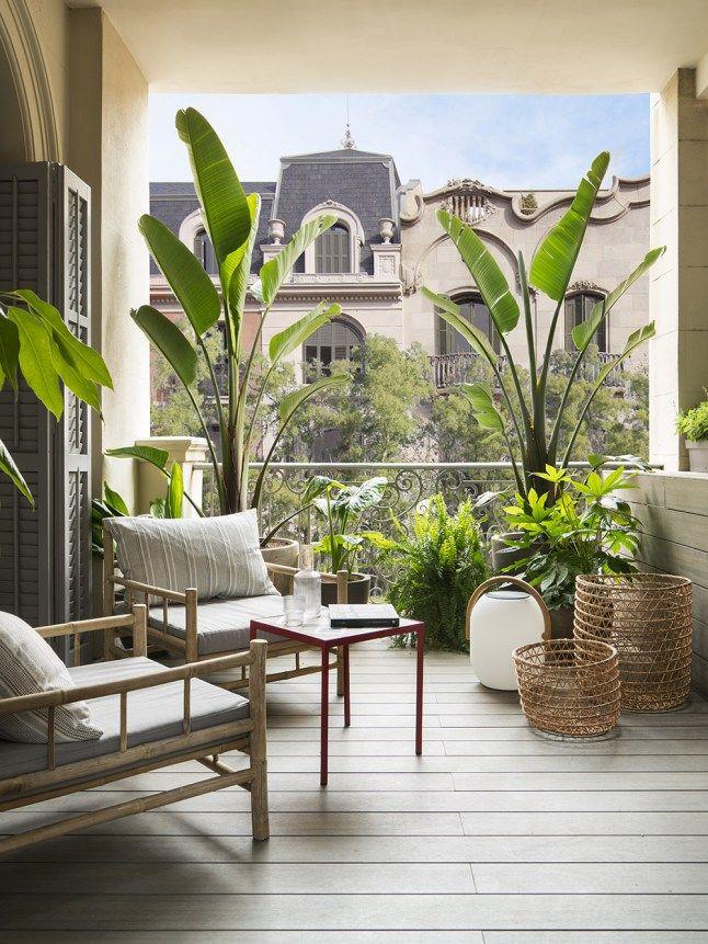 Une maison espagnole rénovée par une designer d\'intérieur   Balconi ...
