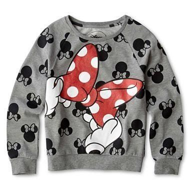 MickeyMeCrazy Disney Minnie Mouse sweatshirt