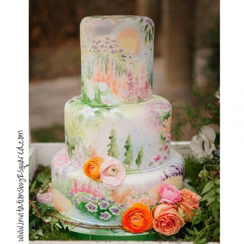 Vincent wedding cakes