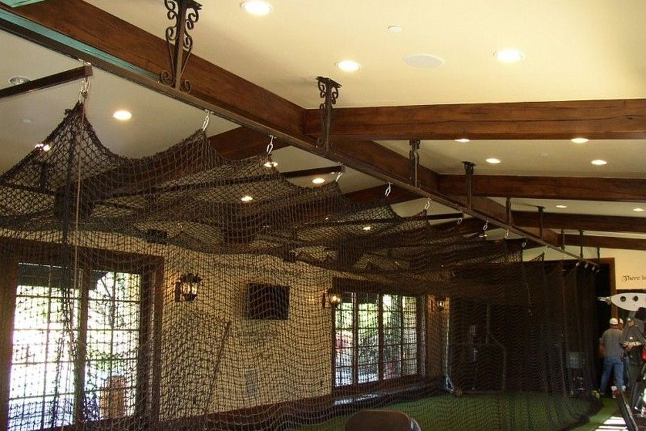 Private batting cage. Cost details for this garage addition ...