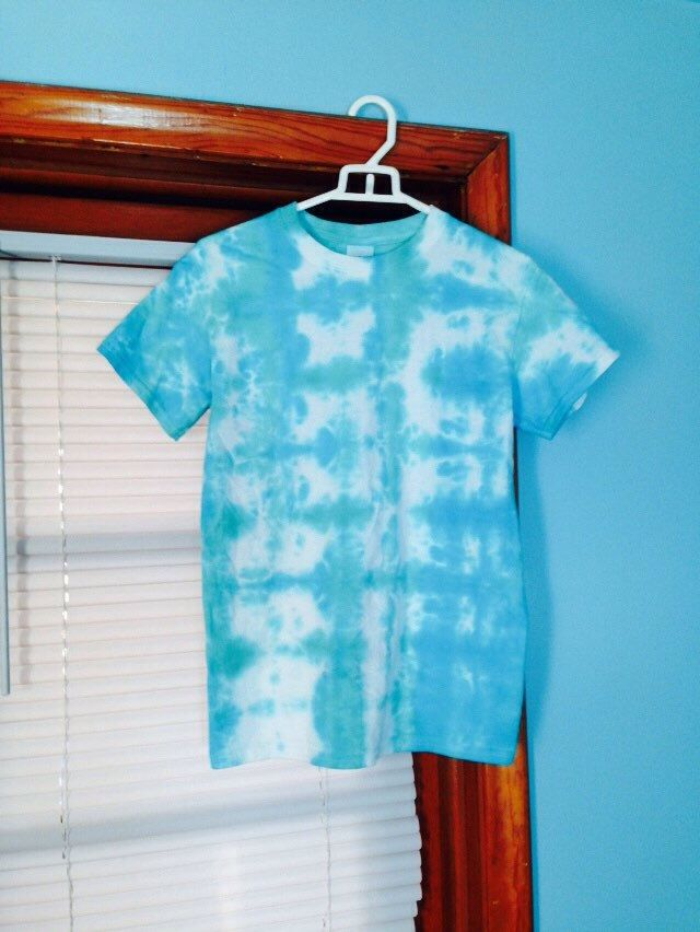 Oceanside Tie Dye Tee - $8.50 for children's sizes/$14.50 for adult sizes S-XL. Handmade, high quality tie dye t-shirts available at  beachbumtiedye.etsy.com . Every shirt is custom made as ordered, so please keep in mind each shirt will come out unpredictably unique!!  Use discount code PIN10 for 10% off of any order - no minimum purchase necessary!