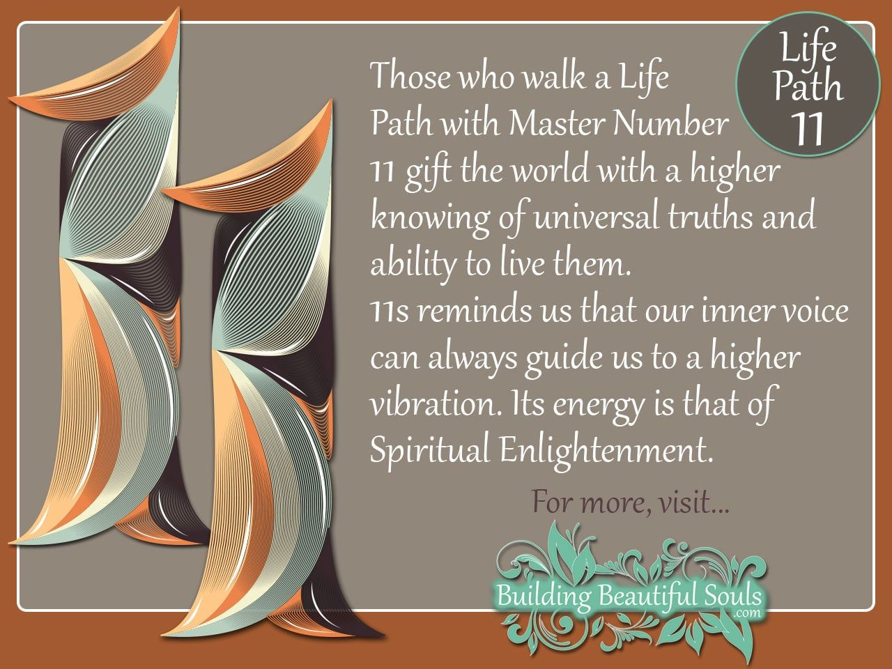 Numerology 11 Life path 11, Life path number, Master