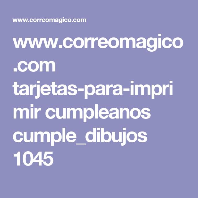www.correomagico.com tarjetas-para-imprimir cumpleanos cumple_dibujos 1045