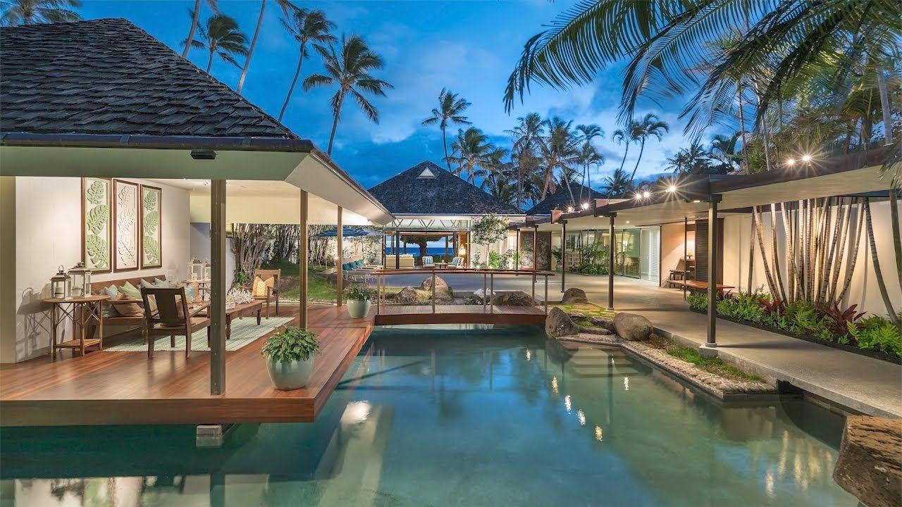 Hawaiian Beachfront Luxury Estate For Sale 4383 Royal Place