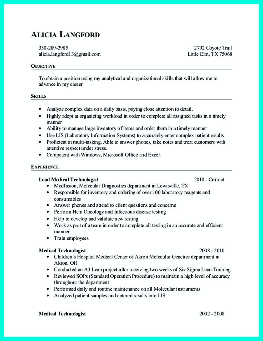Data analyst resume will describe your professional profile ...