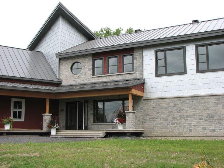 Heritage Series Steel Roof Is Long Lasting In Grey Berry Residential Steel Roofing Steel Roofing Roofing