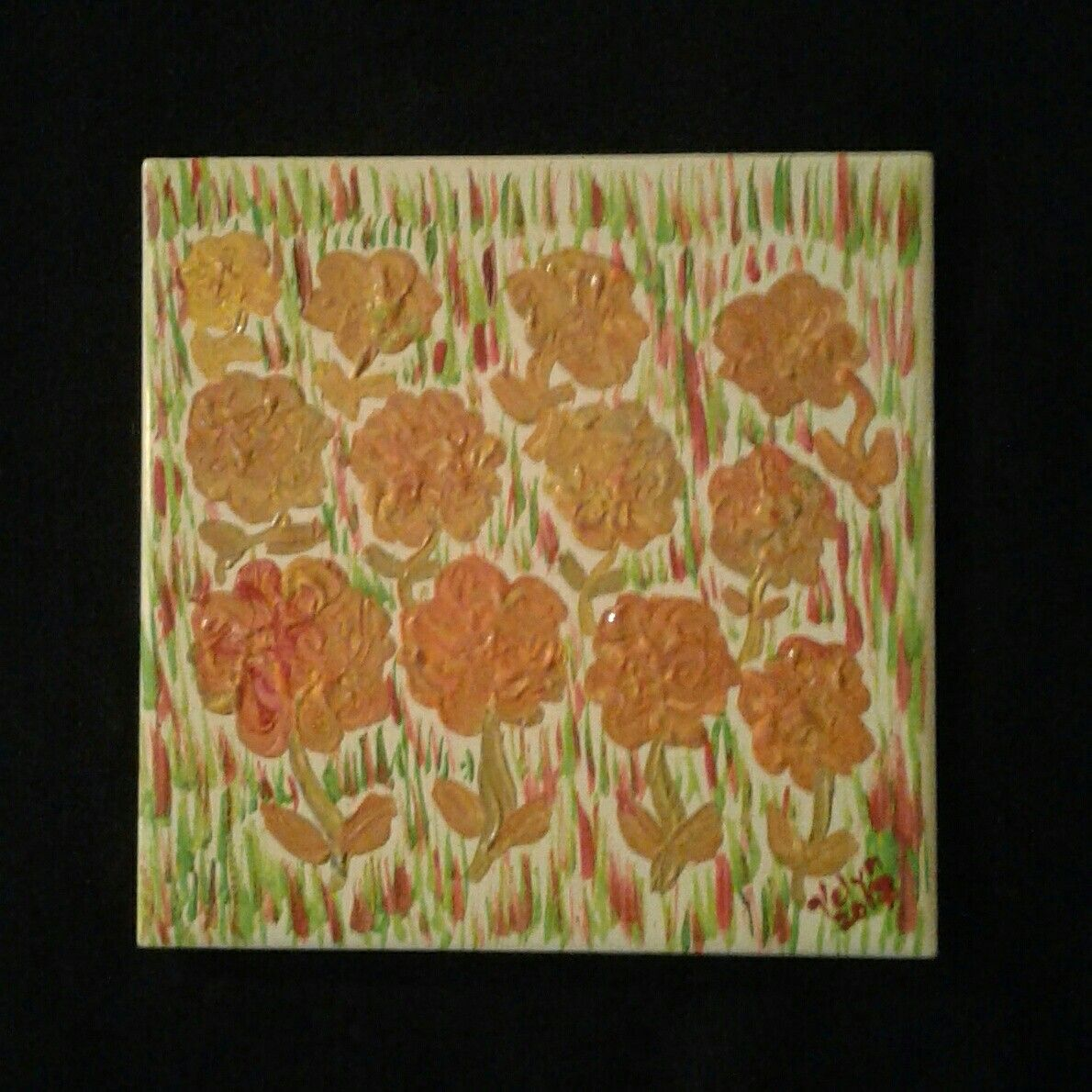 Ceramic Tile Art Art By Velyn Pinterest Ceramic Tile Art And
