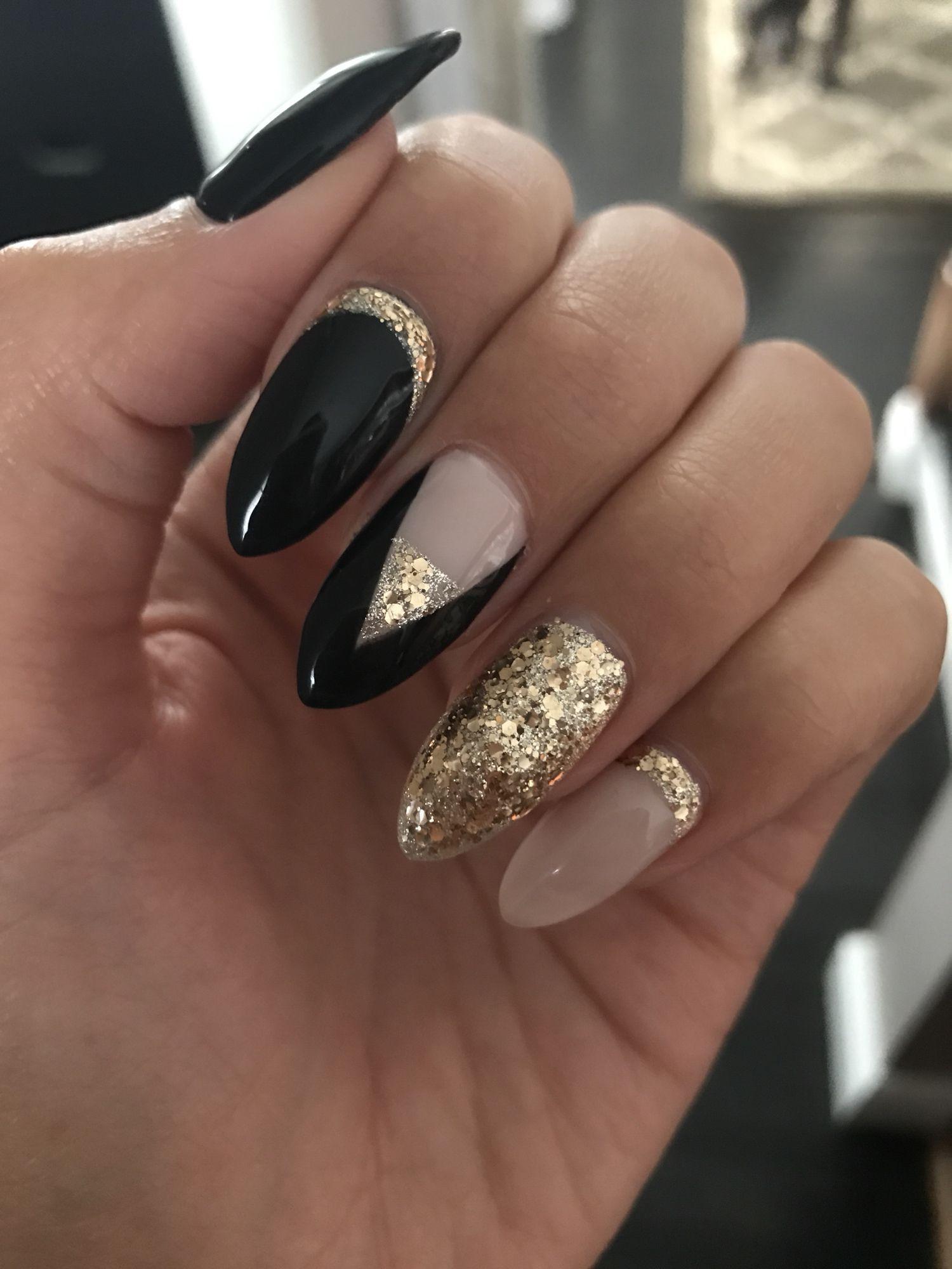 New Years Nails Acrylic   Thin nails, Prom hair and Pink nails