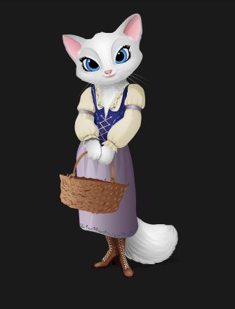 Dulcinea - The Adventures of Puss in Boots.
