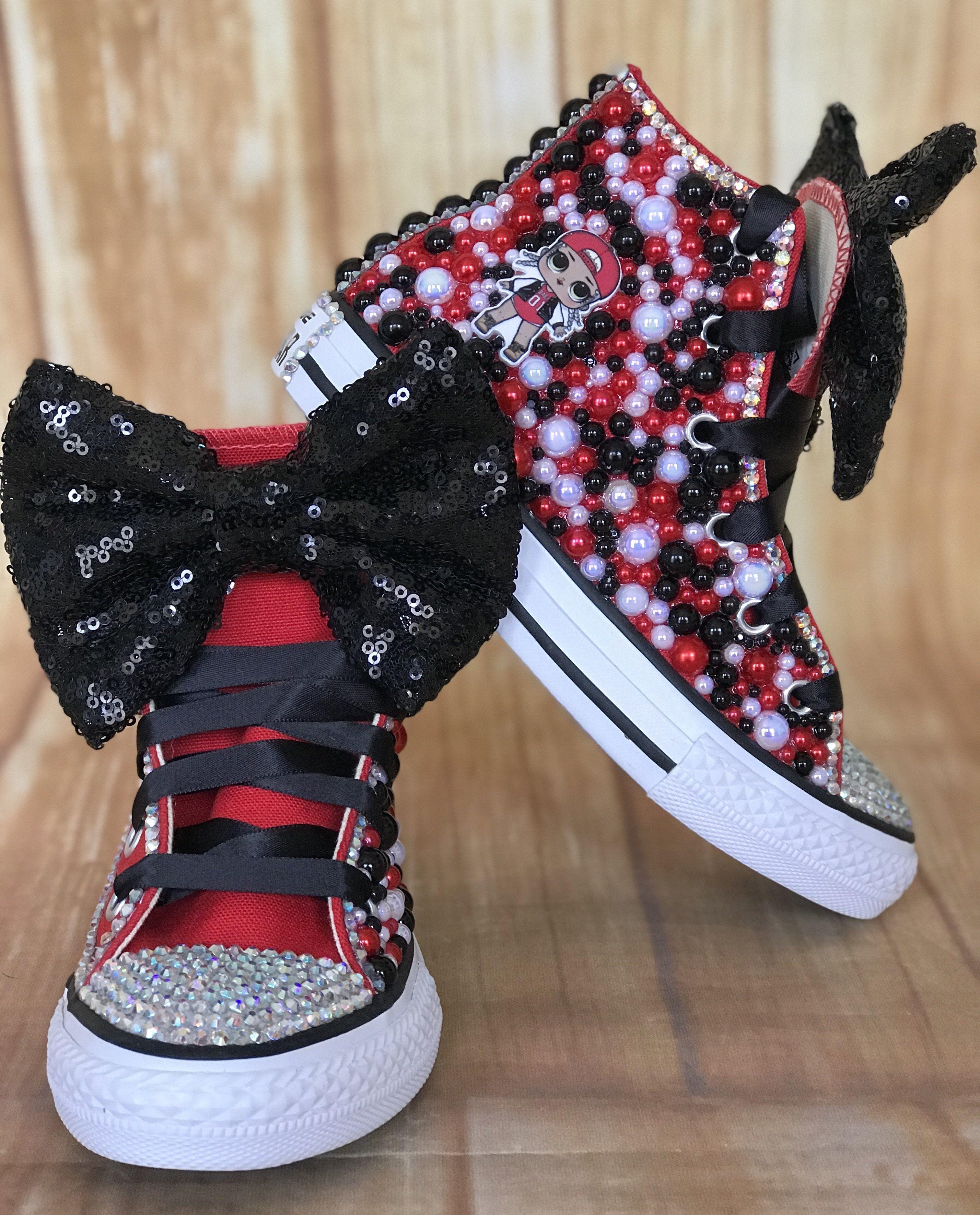 LOL Surprise doll accessories black sneakers