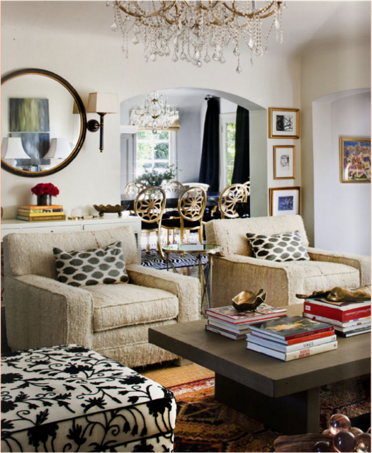 Northern Light February 2011 Eclectic Living Room Design Eclectic Living Room Living Room Designs #tan #and #black #living #room