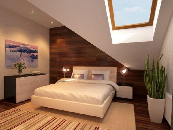 schlafzimmer-ideen-schlafzimmer-ideen-bilder-dach-schlafzimmer - schlafzimmer dekorieren ideen
