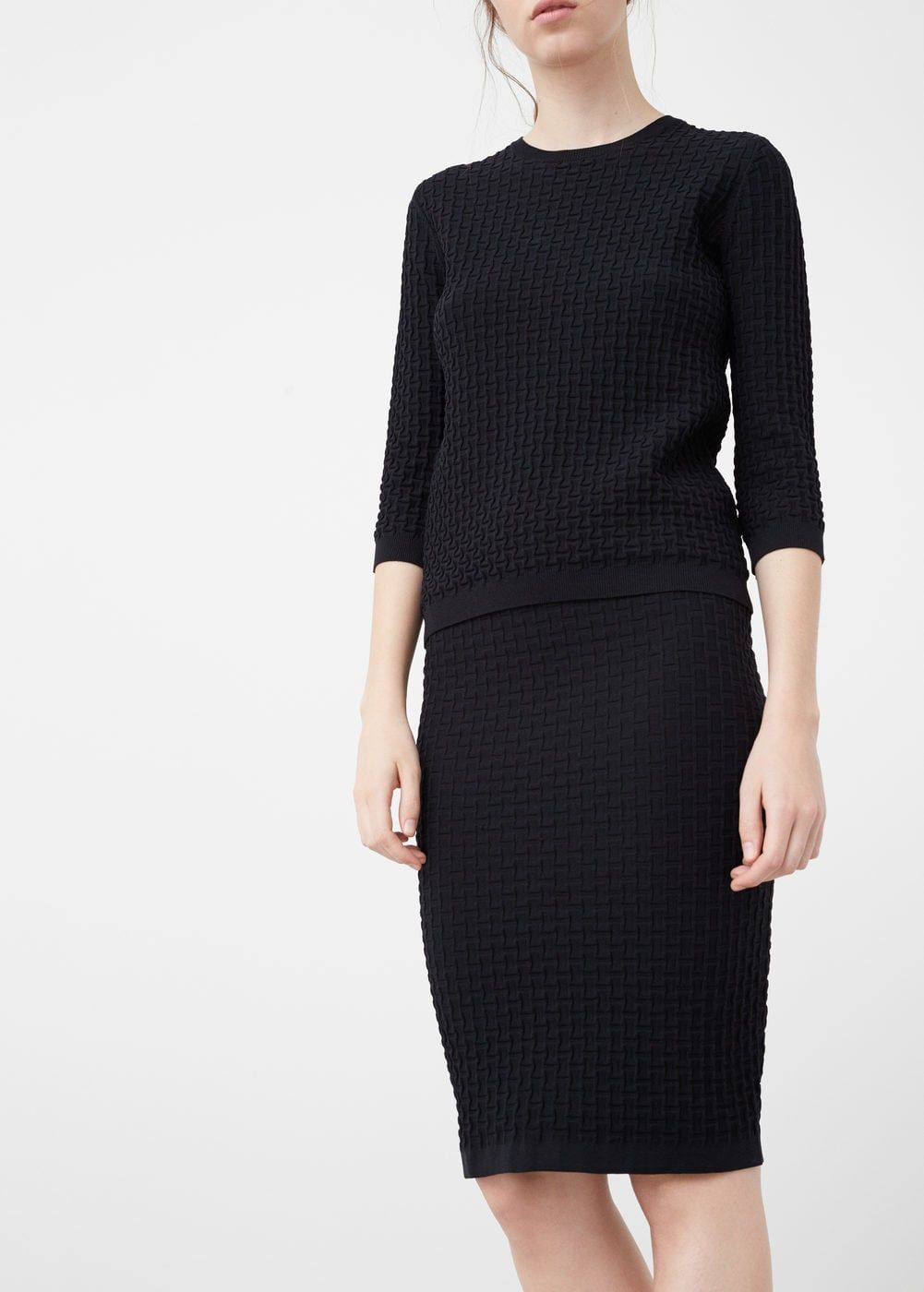 Textured pencil skirt pencil skirts pencil and skirts