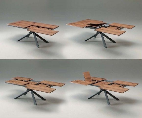 Wohnideen Esstisch tische ausziehbarer esstisch 4x4 und esstische
