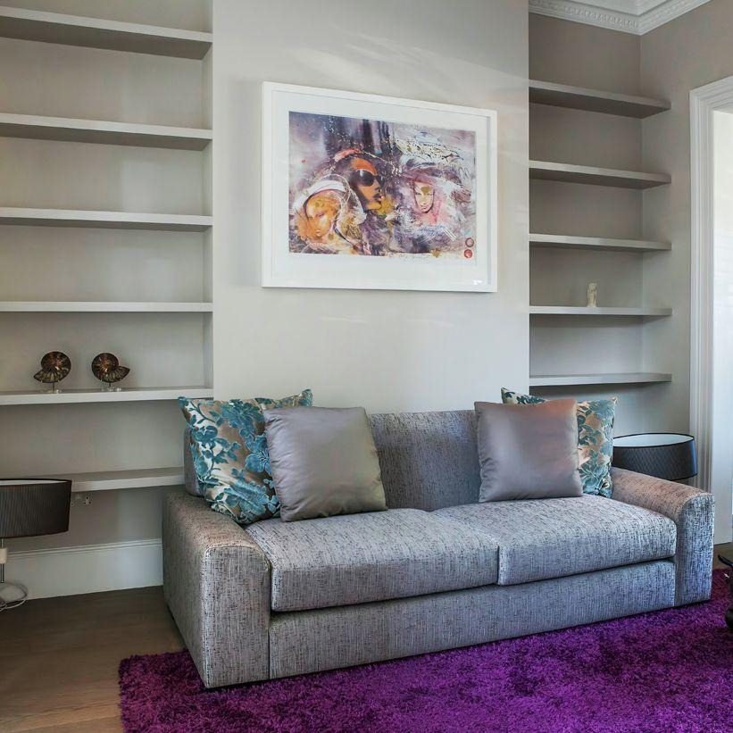 Bespoke Under Stairs Shelving: ƸӜƷ Bespoke Fitted Furniture London: Understairs Storage