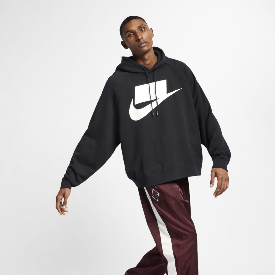 5de24e4249f Nike Sportswear NSW Men s French Terry Hoodie Size 2XL (Black)