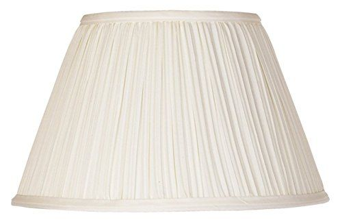 Upgradelights 12 Inch Pleated Lamp Shade Replacement In Eggshell With Attaching Finial 6x12x8 In 2020 Pleated Lamp Shades Lamp Shade Lamp