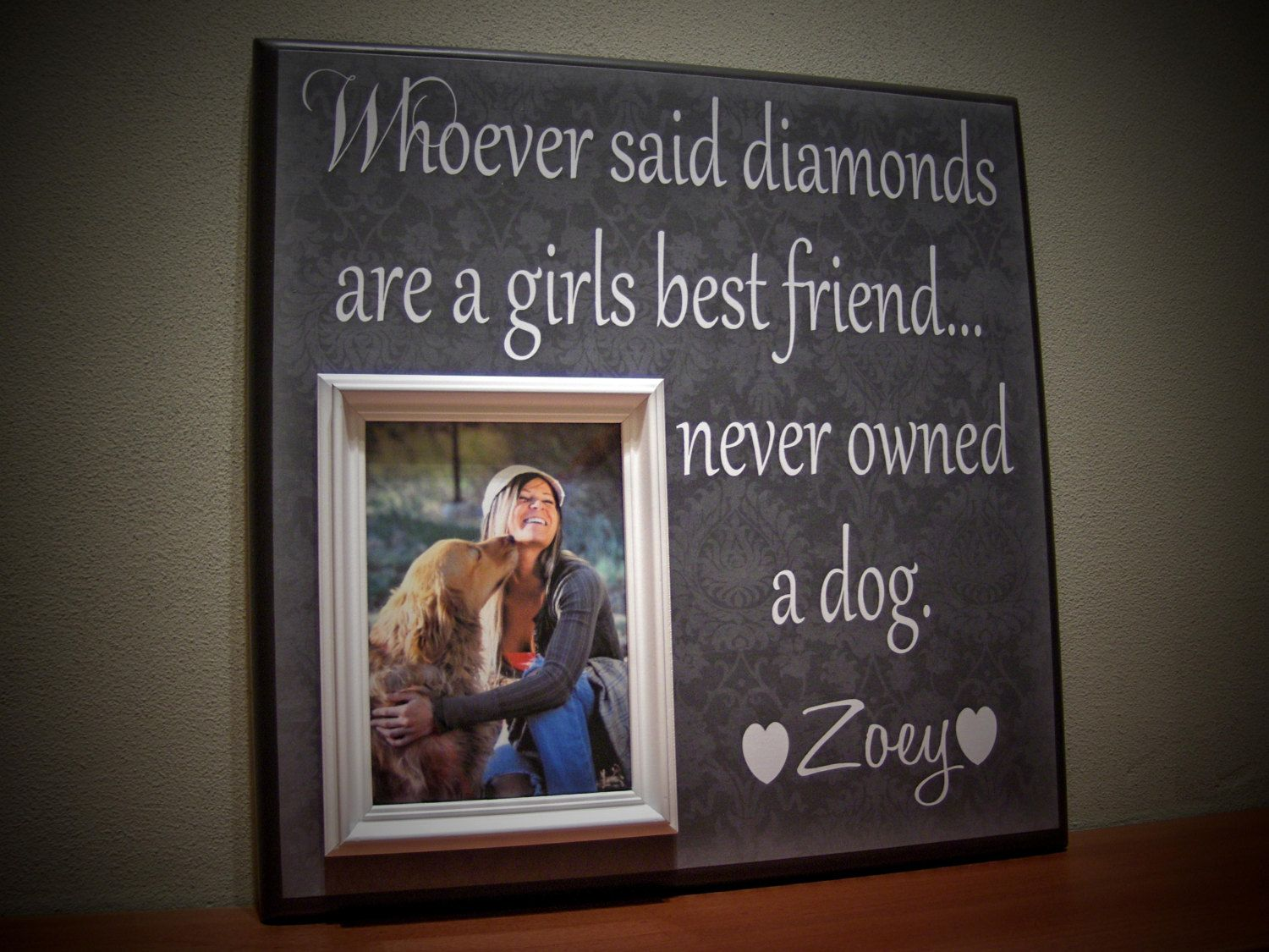Pin By Jenny Rivers On Puppy Power Pet Picture Frame Framed